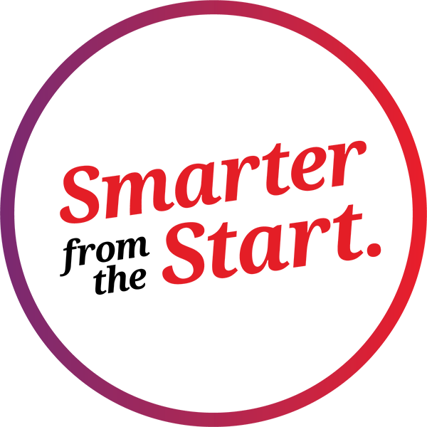 smarter from the start logo