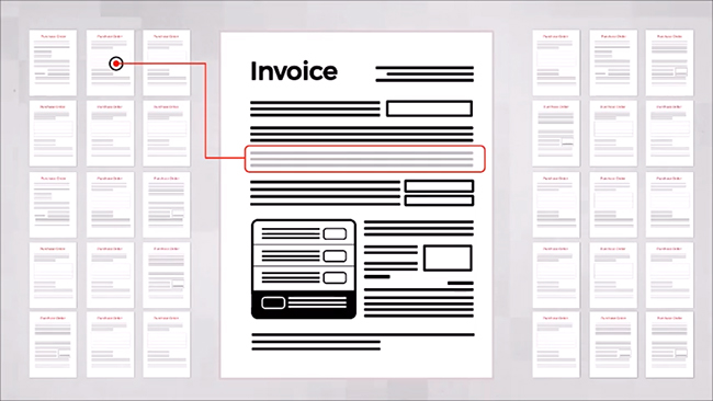 Invoice matching in MediusFlow