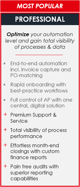 MediusFlow Professional offering
