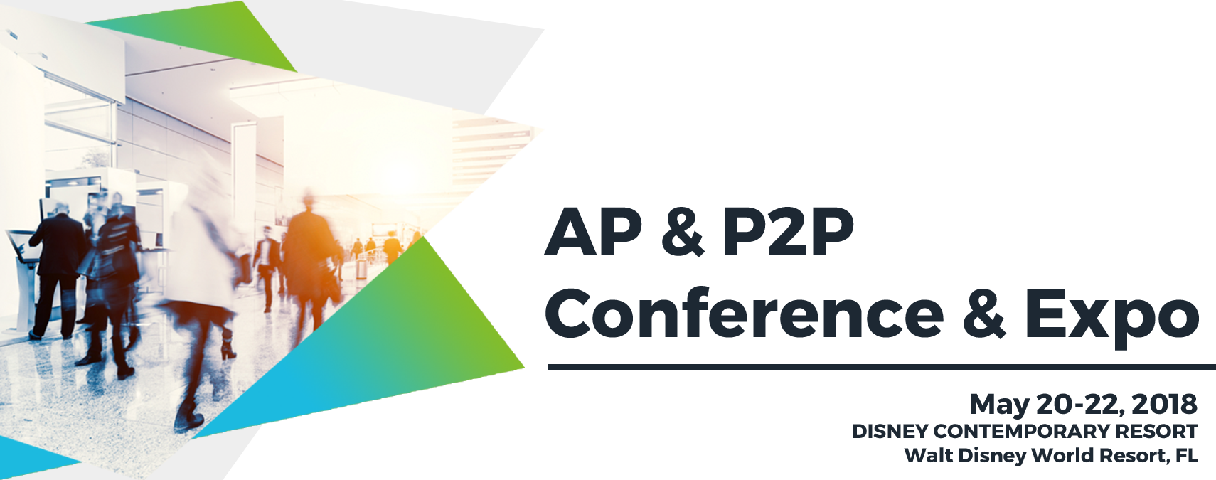 Medius exhibiting at AP P2P Conference 2018
