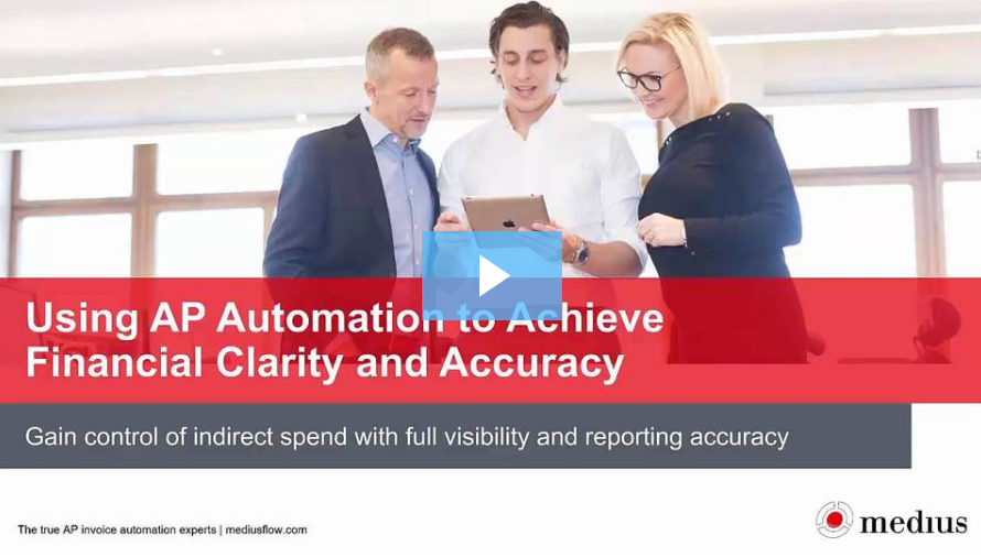 AP automation demo webinar video
